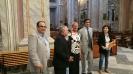 Il Rappresentante del Governo in visita alla Basilica di Sant'Elena